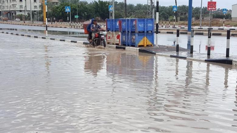 اللجنة القطرية توضح حقيقة غرق أجزاء من شارع صلاح الدين