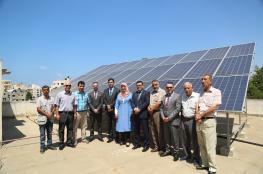 جوال و جمعية عطاء فلسطين يفتتحان مشروع تزويد جمعية بنك الدم بنظام الطاقة الشمسية
