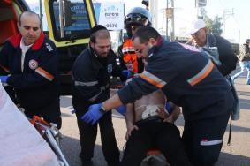"""إصابة جندي إسرائيلي بعملية طعن في """"عسقلان"""""""