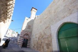 الاحتلال يمنع رفع الأذان في المسجد الإبراهيمي 55 وقتا في يناير