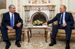 نتنياهو يزور روسيا اليوم للقاء الرئيس بوتين