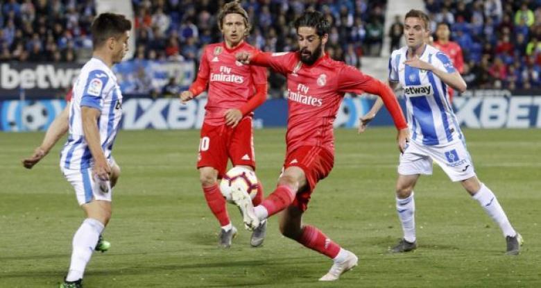 ليجانيس يفرض التعادل على ريال مدريد في الليجا