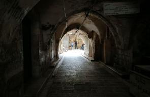 البلدة القديمة في نابلس.. بعد إعلان إغلاقها من لجان الطوارئ