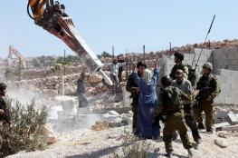 الأمم المتحدة تدعو الاحتلال لوقف هدم المنازل بالضفة والقدس