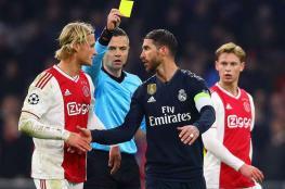 اتهام راموس قائد ريال مدريد بتعمد الحصول على إنذار