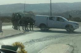 إصابة شاب برصاص الاحتلال شرق قلقيلية