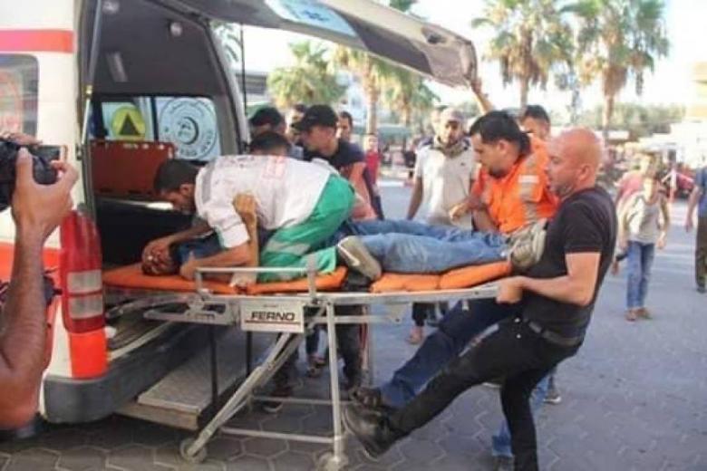 التجمع الإعلامي الديمقراطي يستنكر استهداف الاحتلال صحفيي غزة