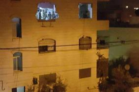 الاحتلال يبدأ بهدم منزل الشهيد عمر أبو ليلى غرب سلفيت