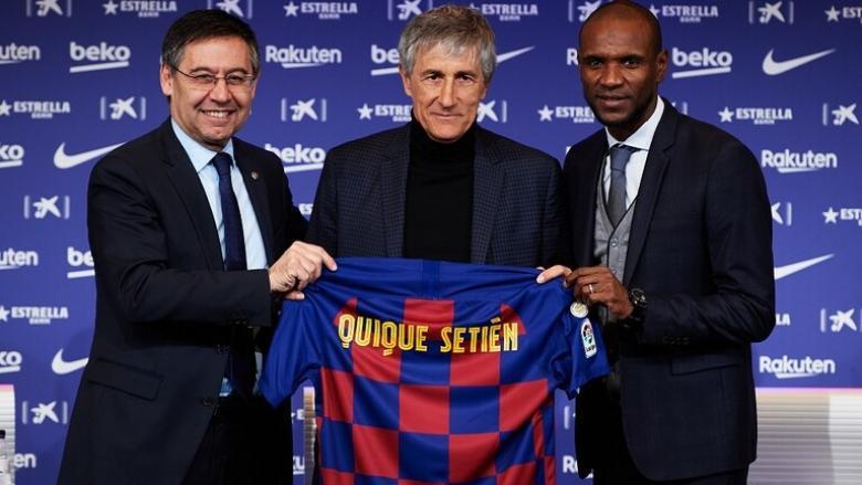 رسميا.. برشلونة يقدم مدربه الجديد لوسائل الإعلام