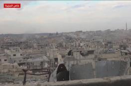 غارات روسية على درعا ومعارك بحمص