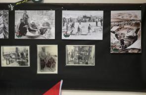 معرض حكاية شعب يجسد معاناة اللاجئ الفلسطيني