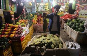 غزة عشية عيد الفطر السعيد
