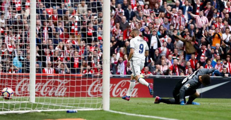 ريال مدريد يعبر كمين أتلتيك بلباو بنجاح
