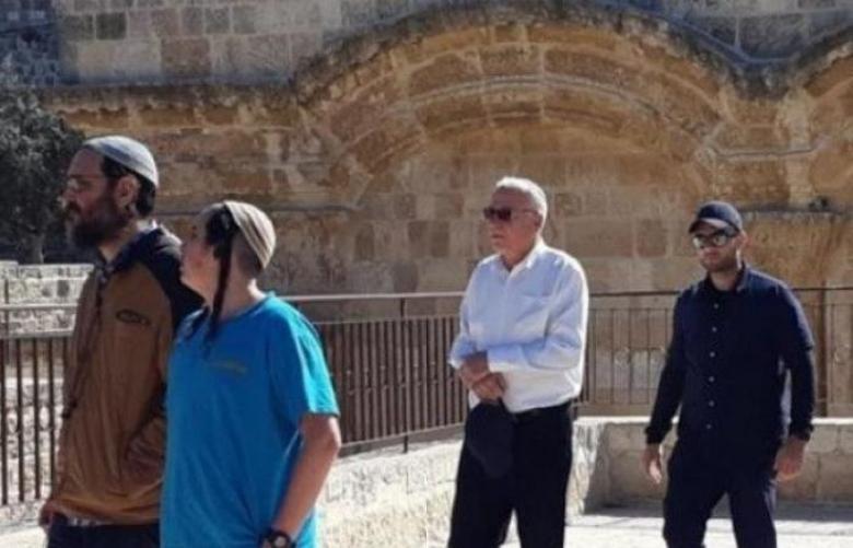 """""""الأوقاف"""" تندد باقتحام وزير الزراعة الإسرائيلي للأقصى"""