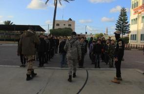 حماس تفتتح مخيم فرسان القدس بالوسطى