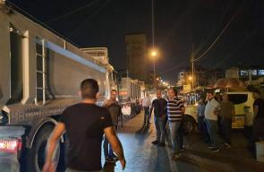 إغلاق سوق للخضار في جنين لتراكم الديون على التجار