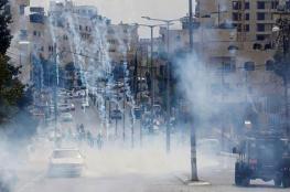 إصابة 3 أطفال بجروح خلال قمع الاحتلال لمسيرة كفر قدوم