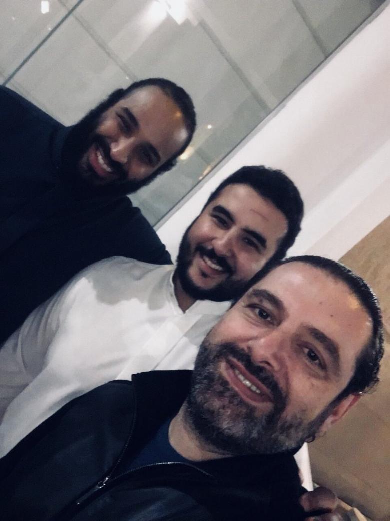 """تفاعل كبير مع """"سيلفي"""" الحريري وولي العهد السعودي"""