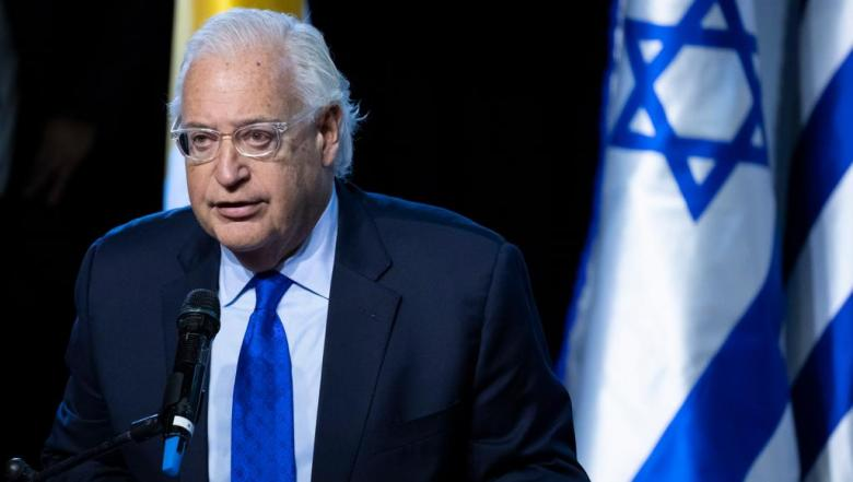 تصريح فريدمان حول ضم مدن في الضفة تناقض للقانون الدولي
