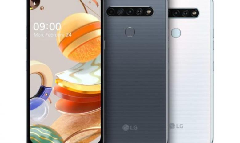 LG تعلن عن هواتف K61 وK51S وأيضاً K41S المميزة بشاشة FullVision