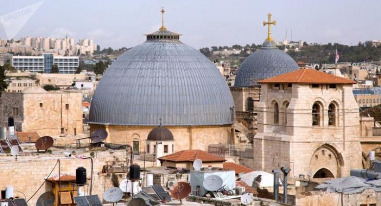 """""""الإسلامية المسيحية"""" تحذر الاحتلال من الاعتداء على أملاك الكنيسة الأرثوذكسية"""