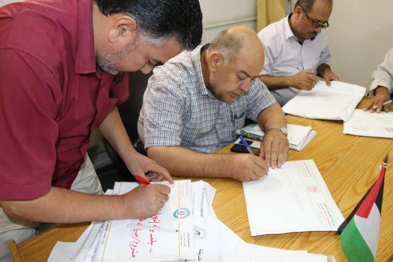 بلدية النصيرات تعلن مشروع صيانة شوارع المخيم