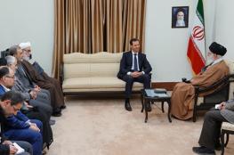 """هذه هي """"الرسالة الخفية"""" لزيارة الأسد لإيران"""