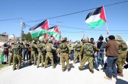 الاحتلال يقمع مسيرة لاسترداد جثامين الشهداء ببيت لحم