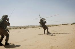 سقوط طائرة إسرائيلية مسيرة فوق الجولان