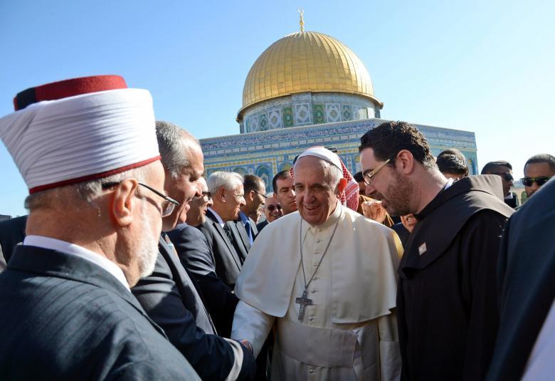 البابا فرنسيس يدعو إلى احترام الوضع القائم في القدس