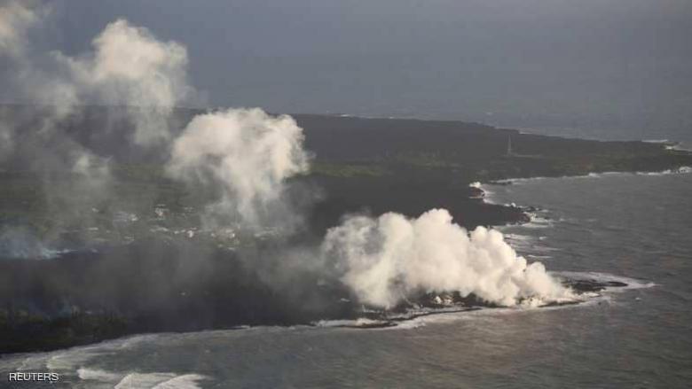 كيف حوّل بركان هاواي المحيط إلى يابسة؟