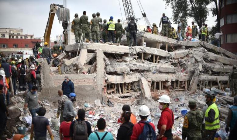 ارتفاع عدد قتلى زلزال المكسيك إلى 286