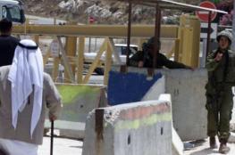 قلقيلية: قوات الاحتلال تغلق جسر كفر لاقف - عزون