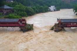 الصين تحذر من إعصار ثان خلال إسبوع