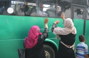 غزة: مراسم وداع حجاج بيت الله الحرام