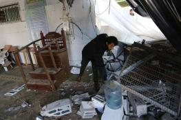 """""""الأوقاف"""" تستنكر استهداف الاحتلال لمسجد شمال القطاع"""
