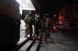 حملة اعتقال ودهم طالت مدن الضفة المحتلة
