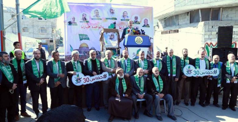 حماس تعلن عن تنظيم مهرجان مركزي بساحة الكتيبة