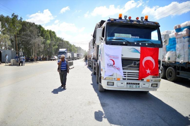 الاحتلال يُلمح إلى إمكانية إدخال المساعدات الدولية لغزة