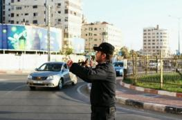 مرور غزة يصدر تنويها للسائقين حول إغلاق طرق بغزة