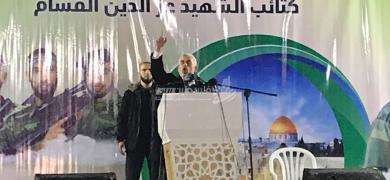 حفل تأبين شهداء القسام في خانيونس