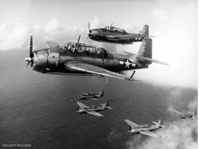 بعد 76 عاما.. حل لغز 3 مقاتلات أميركية أسقطها اليابانيون