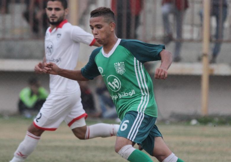 نجم غزي جديد في الدوري المصري