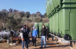 بلدية أم الفحم تبدأ حملة تبديل حاويات النفايات