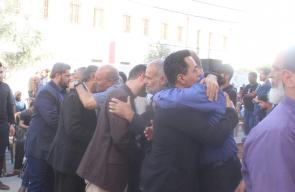الهيئة الوطنية لمسيرات العودة تبدأ زيارات لبيوت عزاء شهداء العدوان الأخير