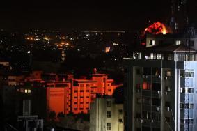 غزة تحت قصف العدوان الإسرائيلي