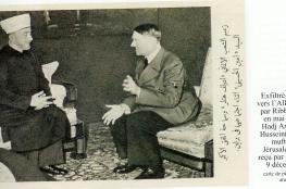 """""""نتنياهو"""": """"الحسيني"""" من أقنع هتلر بإبادة اليهود"""