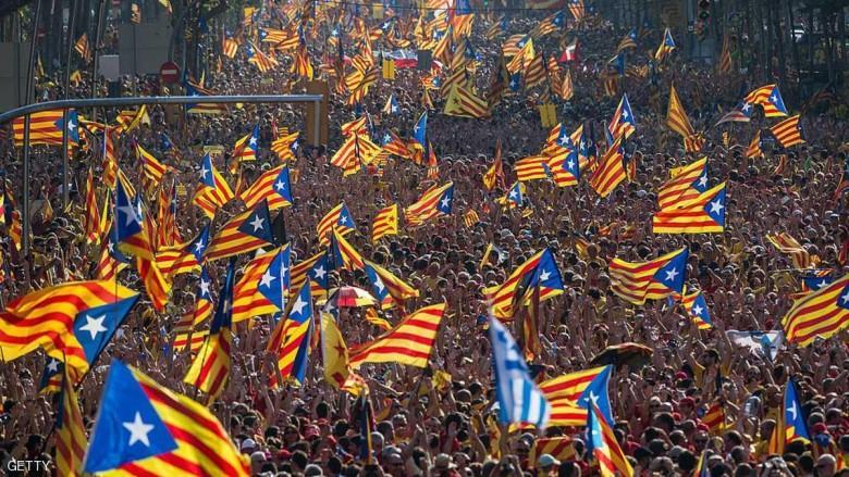 أسبانيا تطلب دعم فلسطين ضد استقلال كتالونيا