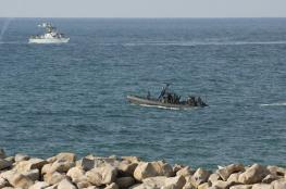 زورق إسرائيلي حربي يدخل المياه الإقليمية اللبنانية لدقائق