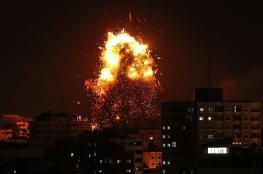 الاحتلال يستهدف مواقع للمقاومة بقطاع غزة